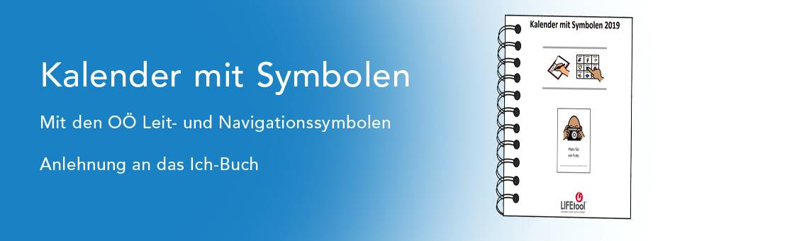 Kalender mit Symbolen 2019